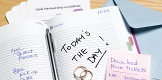 Ημερολόγιο οργάνωσης γάμου