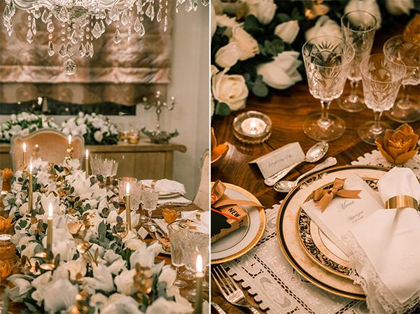 639d2deb7209 Elegant Διακόσμηση Τραπεζιού Για Χριστουγεννιάτικο Γάμο! • ogamosmas.gr