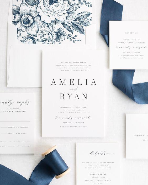 μοναδικά προσκλητήρια γάμου από το Pinterest