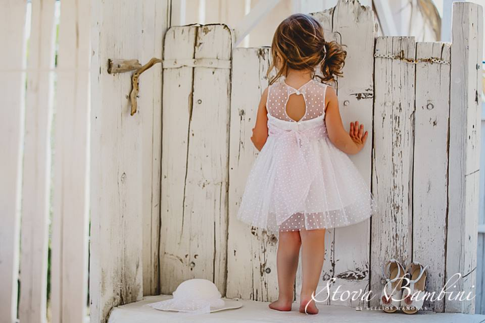 "910a0706a2fd Ανακαλύψαμε τη νέα Collection S S 2018 Stova Bambini με τίτλο ""HORIZONS  SS2018-HANDMADE BAPTISM FASHION"""
