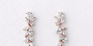 ΚΟΣΜΗΜΑ  Τα Σκουλαρίκια Είναι Πράγματι Το Κόσμημα Της Νύφης 01d578eaf60